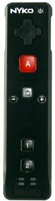 Nyko Wand Motion Controller for Nintendo Wii - Black