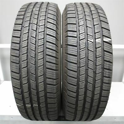 LT245/75R17 Michelin DEFENDER LTX M/S 121R Tire (13/32nd) SET OF 2 NO REPAIRS