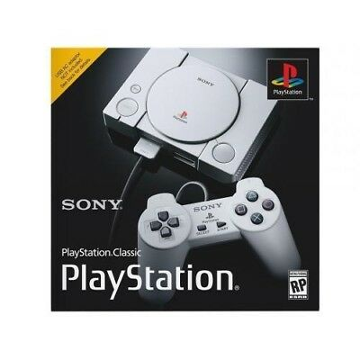 PlayStation Classic Video Game Console NEW & SEALED!  SHIPS FREE TODAY PS1 PS4