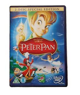 Peter Pan Walt Disney Genuine R2 Dvd 2-Disc Special Edition New/sealed