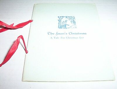 3 vintage christmas illustrated booklets flock covers mid century