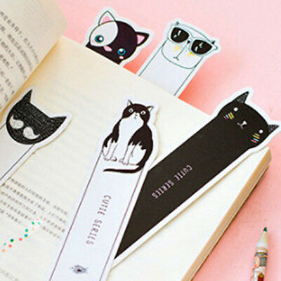 30pcs Npvelty OH YEAH CAT Bookmarks Marker Stationery Gift School Supply ON SALE
