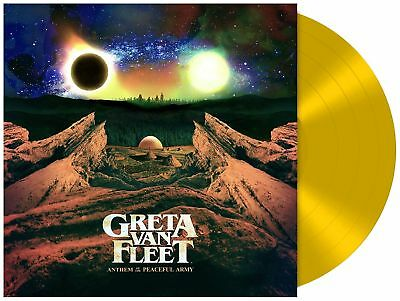 GRETA VAN FLEET Anthem Of The Peaceful Army - LP / Yellow Vinyl