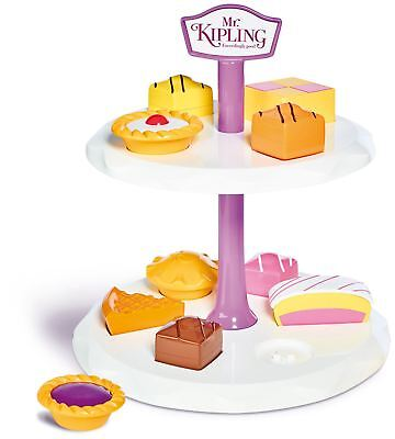 Casdon MR KIPLING CAKE STAND Children Food Cooking Pretend Play Toy - NEW
