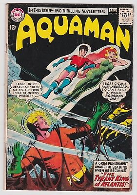 DC Aquaman #14 1964 Silver Age Bagged & Boarded (VG)