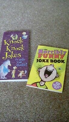 Pair of kids joke books