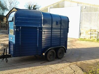 Rice Vintage Horsebox Trailer Conversion - Bar, Catering, Mobile Business