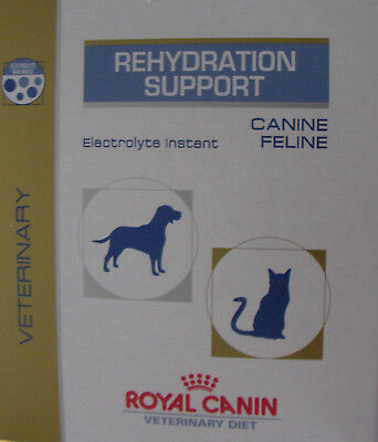 RC REHYDRATION SUPPORT-DOGS/CATS 29g SACH. MAKES ELECTROLYTE DRINK FOR DIARRHOEA
