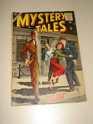 Mystery Tales 48 Silver Age Comic Book 1956