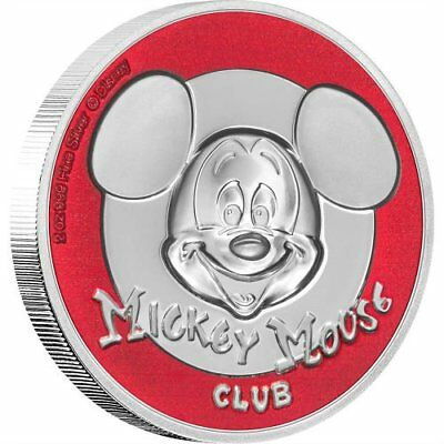 MICKEY MOUSE CLUB - 2019 2 oz $5 Ultra High Relief Pure Silver Coin - NIUE - NZ