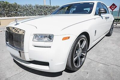 2014 Rolls-Royce Ghost  2014 Rolls Royce Ghost RWD V Spec Edition -- Arctic White -- MIAMI