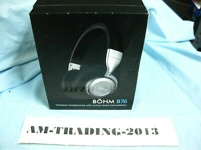 bb5411efc42 BÖHM Wireless Bluetooth Headphones with Active Noise Cancelling - B76