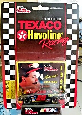 Collectible ERNIE IRVAN #28 TEXACO RACING CHAMPIONS 1996 EDITION 1:64 New/sealed