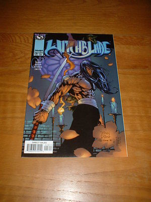 Witchblade 28. Feb 1999. Nm Cond. Wohl / Green / D-Tron. Image/top Cow