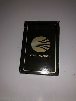 Continental Airlines Trump Playing Cards Black Box - Cards Sealed