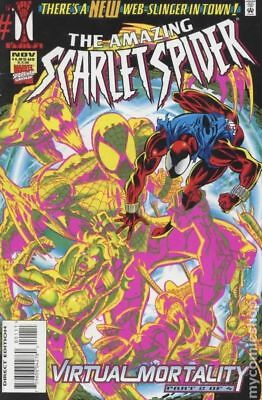 Amazing Scarlet Spider 1D 1995 VF Stock Image
