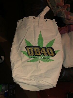 UB40 Tote Bag. Keeps On Rolling! Canvas. As New.