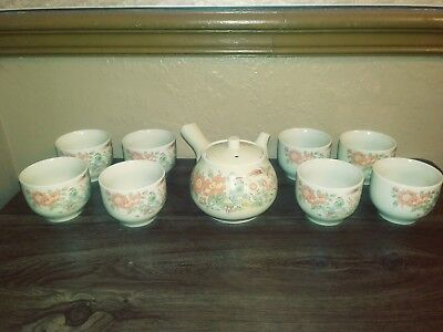 Antique Asian Chinese Japanese Tea Set