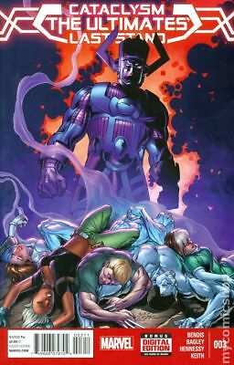 Cataclysm Ultimates Last Stand #3A 2014 NM Stock Image