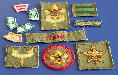 Miscellaneous Boy Scout Rank Badges & patches. BSA Be Prepared Badge