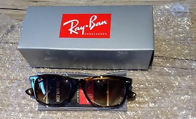 2eb038d175e SUNGLASSES RAY-BAN NEW Wayfarer Tortoise RB2132 710 51 52-18 ...