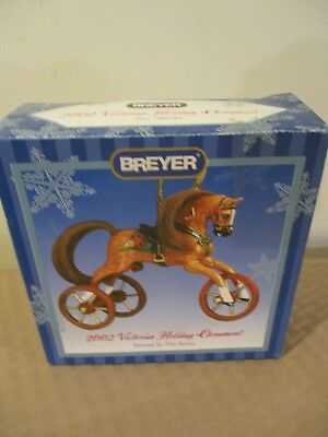 Breyer 2002 Victorian Holiday Horse Ornament No. 700702  2nd In The Series