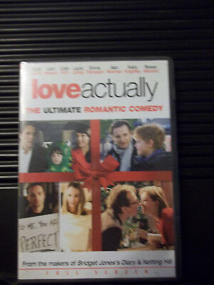 Love Actually (Full Screen Edition) LIKE NEW