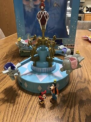 Disney Dumbo Playset Monorail Accessory Excellent & Works Great. In Original Box