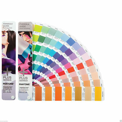 Pantone Formula Guide Solid Coated & Solid Uncoated GP1601N, 2018 edition