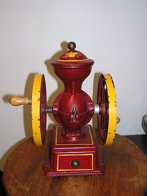 vintage john wright inc Wrightsville pa coffee mill coffee grinder never used