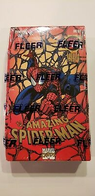 1994 Fleer 1St Edition Amazing Spiderman Marvel Trading Cards Box