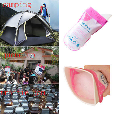 Unisex Portable Travel Urine Bag Emergency Mobile Camping Car Disposable Urinal