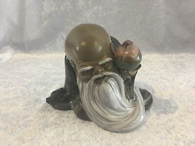 Ceramic Chinese Figurine - Chou - Mid To Late 20 Century