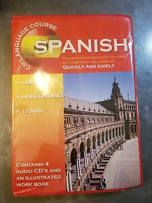 Learn Spanish 4 Cd Course With work Book