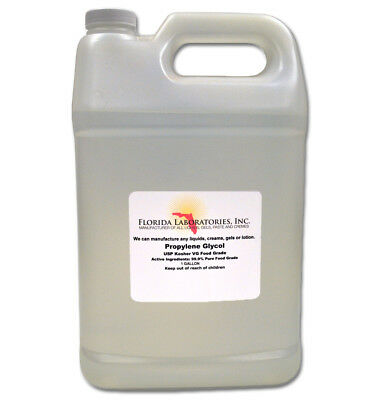 One Gallon Vegetable  Propylene Glycol USP Kosher PG 99.9% Pure Food Grade