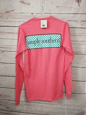 NWT Simply Southern Women's Sz. XS (Extra Small) Long Sleeve T-Shirt w/ Pocket