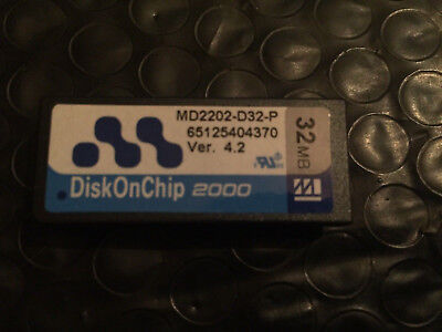 DiskOnChip 2000 MD2202-D32-P 32MB DOC Disk On Chip