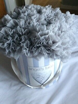 Angel's Face Tutu Skirt Silver/Grey Age 8-10 years