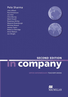 In company, Upper-intermediate (Second Edition) Teacher's Bo ... 9783191029814