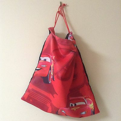 Handmade Kids library bag/tote bag Cars
