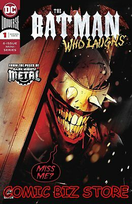 Batman Who Laughs #1 (Of 6) (2018) 1St Printing Main Cover Dc Universe ($4.99)
