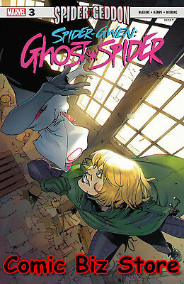 Spider-Gwen Ghost Spider #3 (2018) 1St Printing Bengal Main Cover Marvel Comics