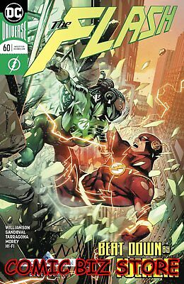 Flash #60 (2018) 1St Printing Sandoval Main Cover Dc Universe Bagged & Boarded