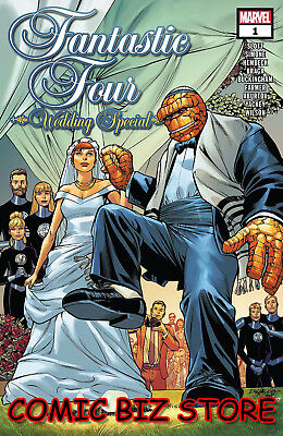 Fantastic Four Wedding Special #1 (2018) 1St Printing Pacheco Main Cover ($4.99)