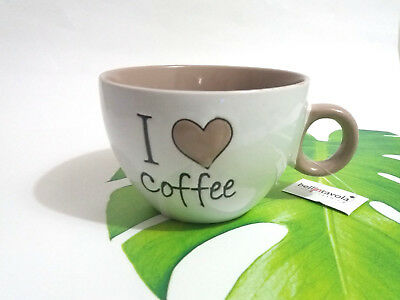 Tazza Da 450 Ml 1 Pezzo I Love Coffee Limited Edition Color