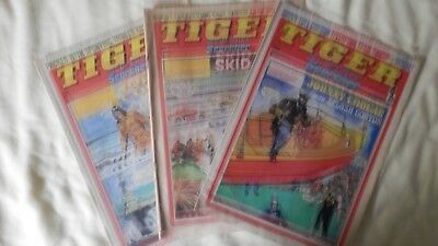 TIGER and SCORCHER 3 issues (1977/9)