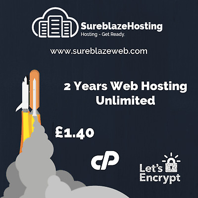 Website Web Hosting Unlimited - 2 years. Let's Encrypt Included!