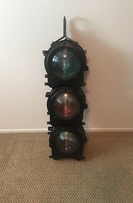 Safetran Systems Railroad Traffic Signal Light (Light Works)