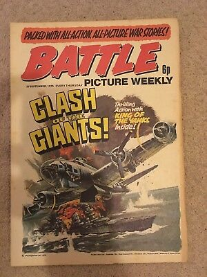 BATTLE PICTURE WEEKLY issue #30 : 27 Sep 1975 - classic boys' war comic