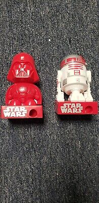 Star wars candy dispensers - R2D2 and Darth Vader